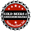 cold beers and cheeseburgers logo
